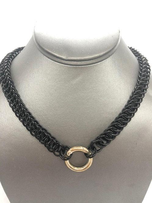 4-1 Half Persian in Black Anodized Aluminum