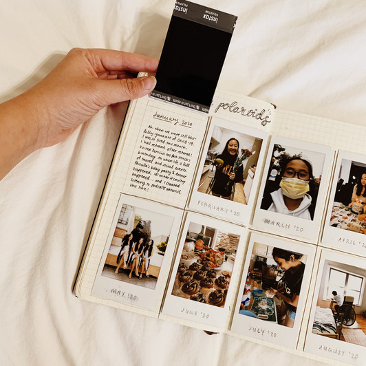 #JournalingPrompts: A Year in Polaroids
