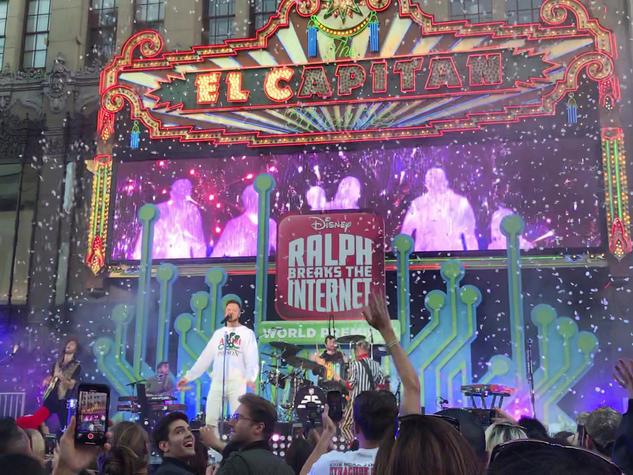 Ralph Breaks Internet Concert