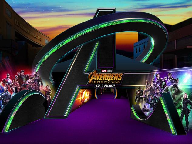 Avengers Infinity Wars Photoshop Rendering