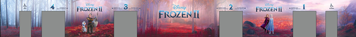 Frozen 2 Mural Design