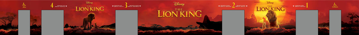 Lion King Mural Design