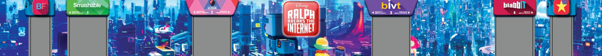 Ralph Breaks the Internet Mural Design