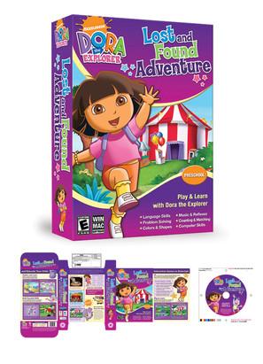 Nickelodeon Dora Software Packaging