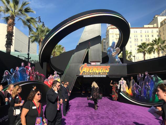Avengers Infinity Wars Premiere