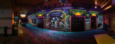 Pixar Onward Mural El Capitan Rendering