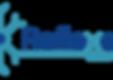 Logo Reflexens bleu foncé et bleu lagon