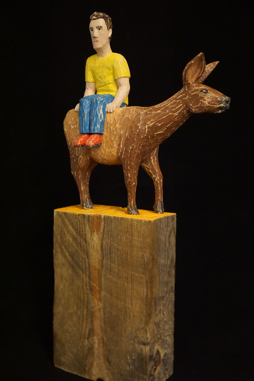 """""""Elk Sitting"""", 2016"""