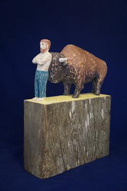 """""""Buffalo Lean"""", 2015"""