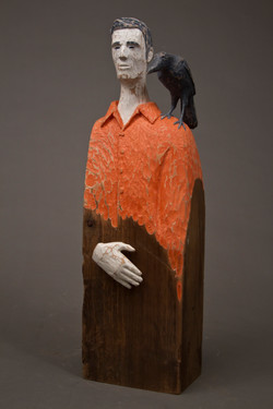 """""""Man With Crow"""", 2014"""