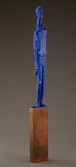 """Blue Man"", 2013"