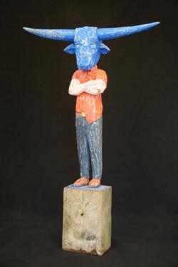 """""""Bull Mask"""", 2015"""