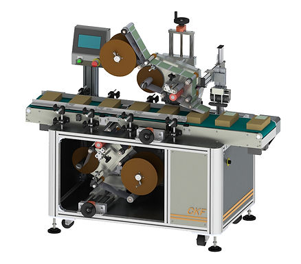 Top and Bottom Automatic Labeling Machine
