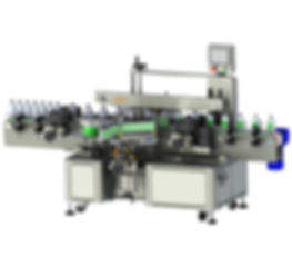 Twin Sides Labeling Machine
