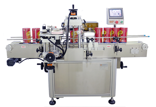 Tape Sealing And Labeling Machine With Tag