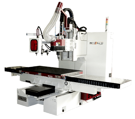 Small-scale Static Column Nesting Table CNC Machining Center