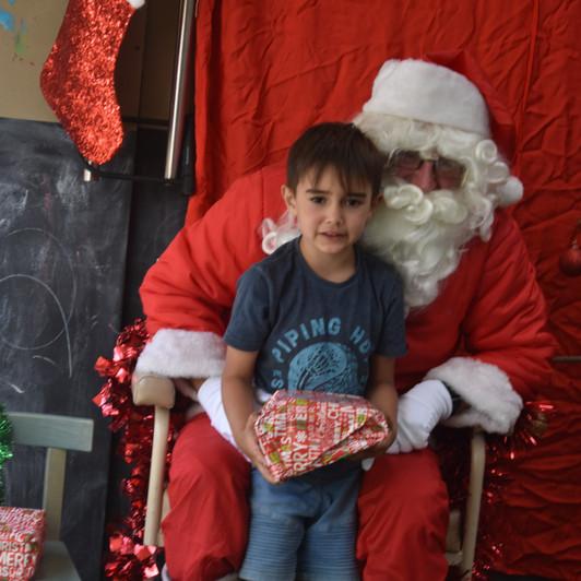 Playgroup Santa Visit