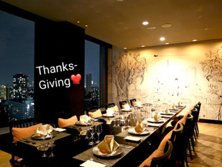 感謝祭&予祝祭ディナー✨