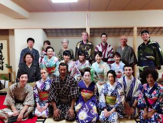 舞妓さんと夕食会 in 京都