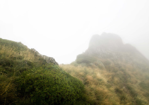 Le cap de Laubère dans la brume, 2015