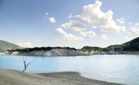 Le lac d'Ainsa, 2015
