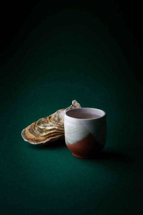 Le verre de sake et l'huître, 2021
