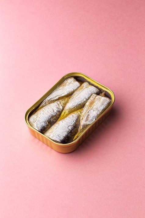 Les sardines sur fond rose, 2021