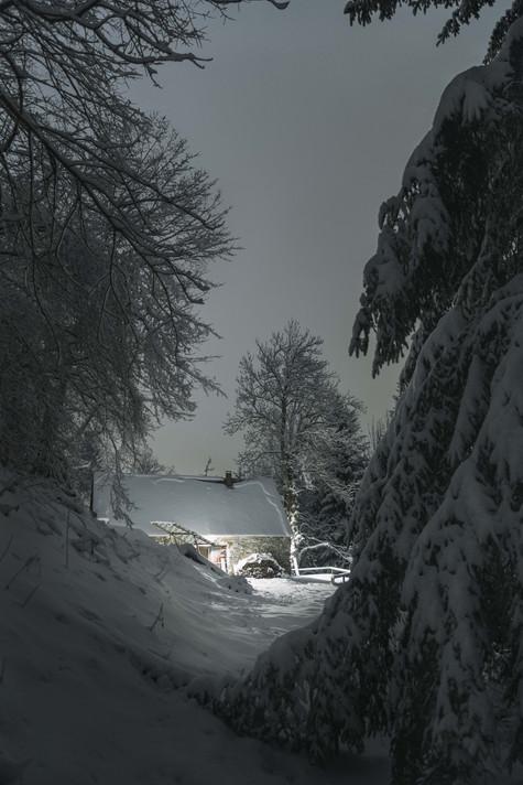 La grange en hiver, 2017