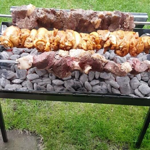 A little Greek style grilling
