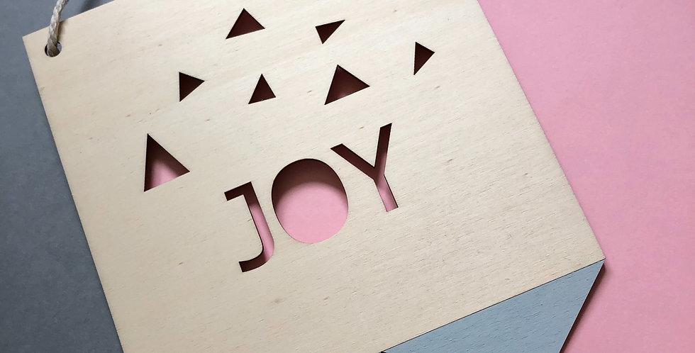 דגלון joy תנונה