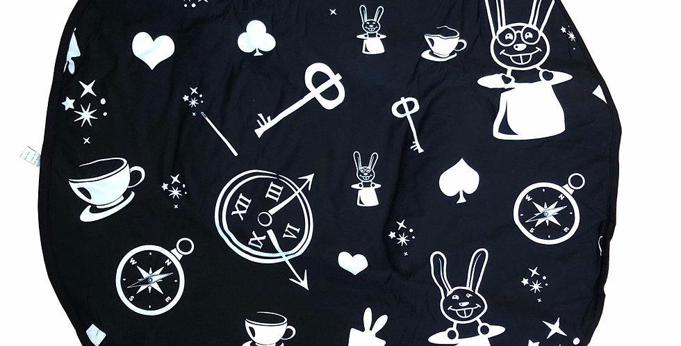 שטיחון ניובורן - דגם וונדרלנד מונוכרום