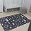 Thumbnail: שטיחון PVC - וונדרלנד מונוכרום