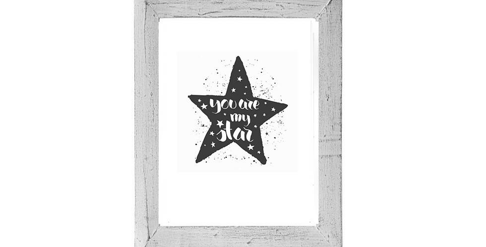 הדפס My Star