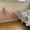 Thumbnail: מדבקת קיר - ״נורדיק מאונטיין״ דגם פינק ניוד