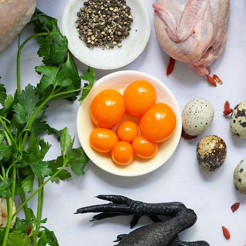 SFP 1 Kg Salted Duck Egg Yolk   咸蛋黃   LONG ĐỎ TRƯỚNG