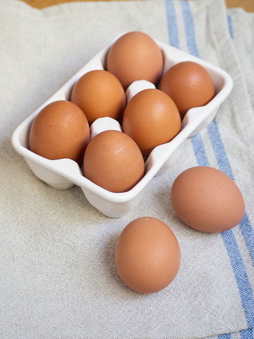 Free Range 800g Egg Dozen | 走地雞蛋 | Trứng Gà Chạy Bộ