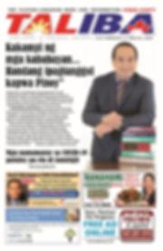 Cover - Taliba Newspaper 2020 Feb 21 - M