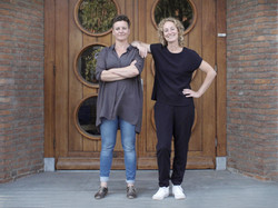 Portrait of Atelier NL founders photographed at their studios in Holland