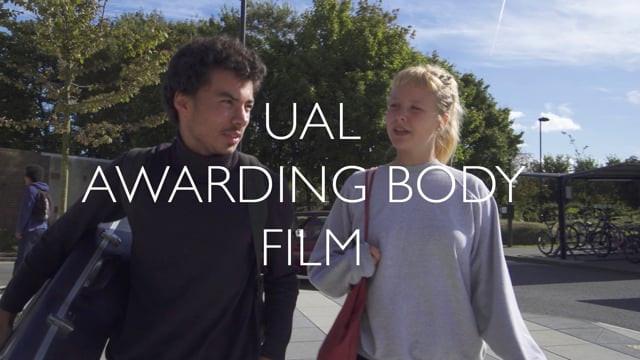 UAL:AWARDING BODY VIDEO