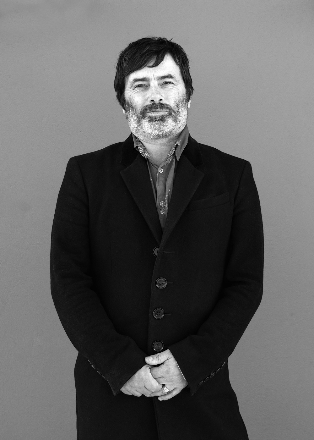 Portrait of Lawrie Dunster owner of Curve Pusher Vinyl Record Cutting Studios in Hastings
