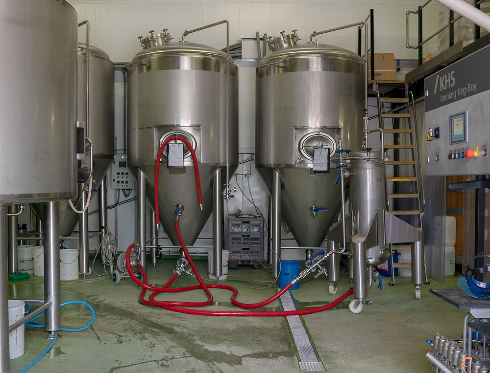 Photo of Burning-Sky-brewery Beer making process