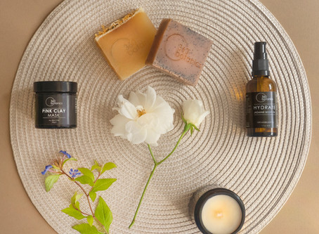 Beauty Product Photography for 360 Botanics, Lewes based Vegan Skincare Company.