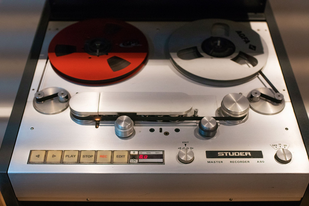 Photo of a StuderA810 -Quarter-inch-tape-machine, #Studer_A810,#
