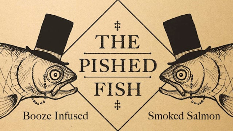 The Pished Fish booze infused Smoke Salmon