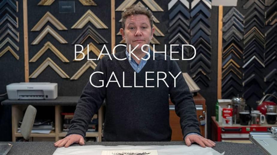 The BlackShed Gallery in Robertsbridge, Sussex