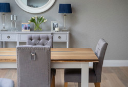 Photography shoot featuring a handmade table created by artisan furniture makers Earthy Timber in Ea