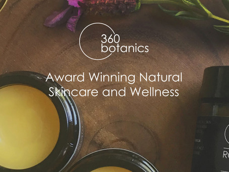 Web Shop Design for Skincare brand 360 Botanics