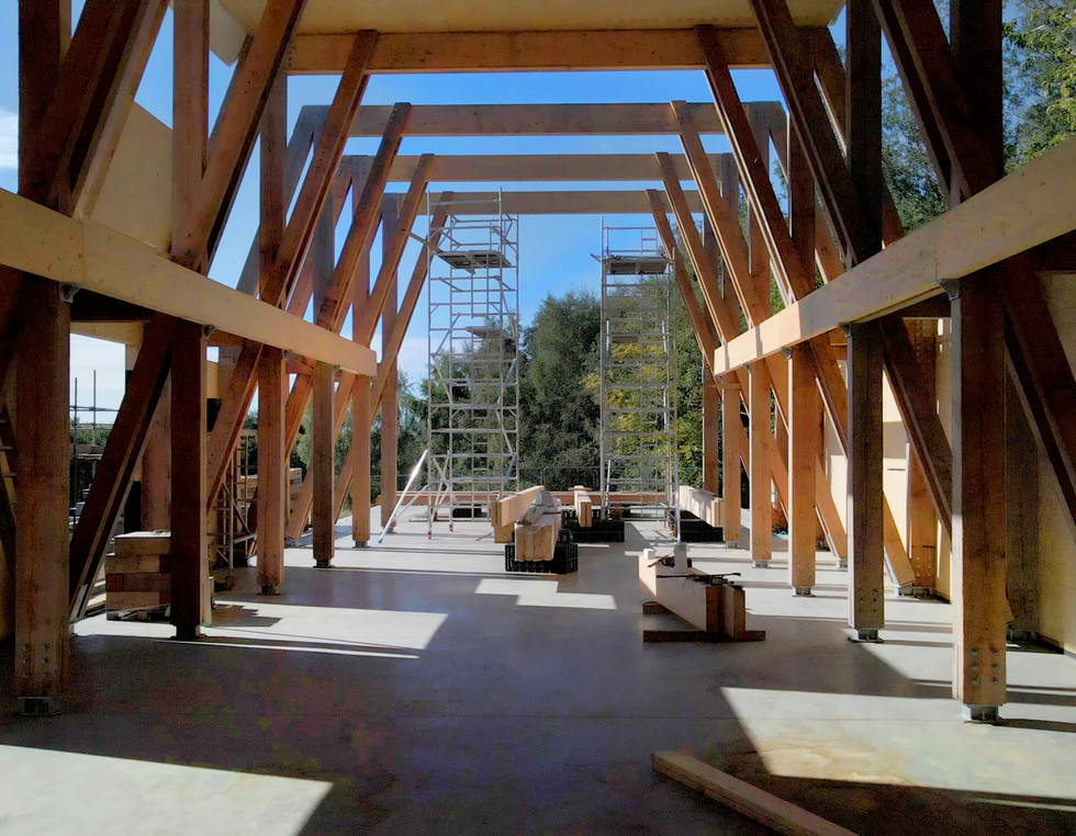 Flimwell Park Focal Building construction