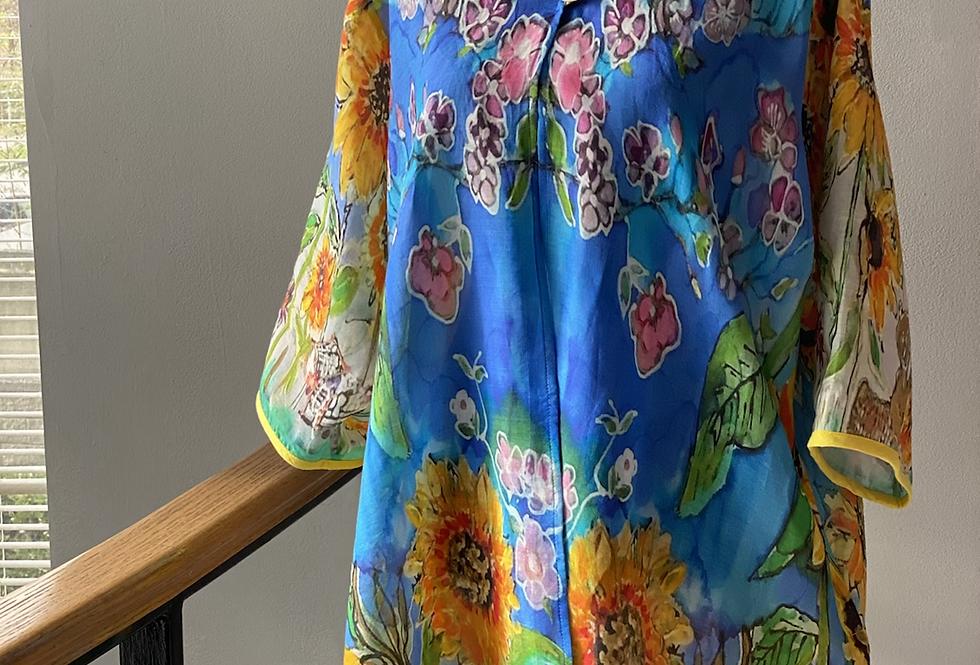 Sunflower Linen Exclusive Kimono Coat