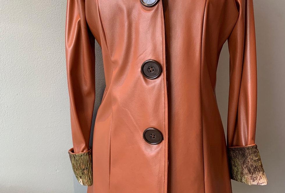 Classic Raincoat (Caramel)